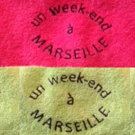 Serviette invité un week end a marseille